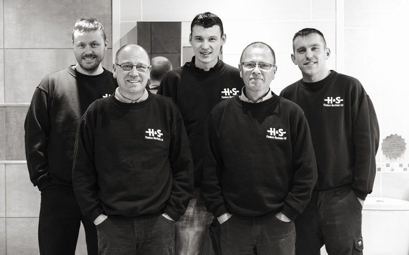 H &S Bathroom Showroom Team