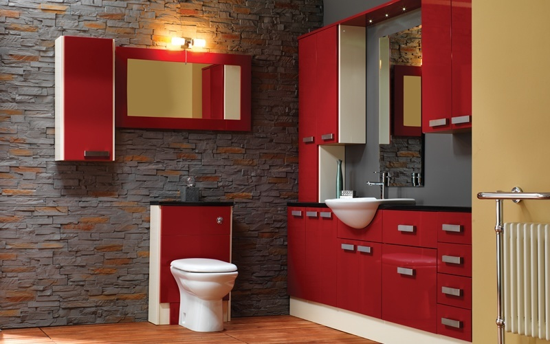 Modern bathroom showroom