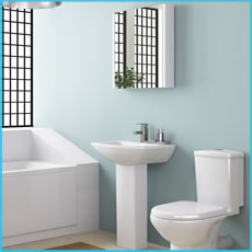 Toilet Basins & Sinks on display