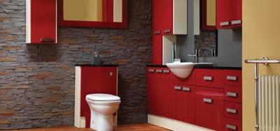 stylish bathroom graphic