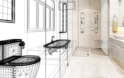Achieve Your Dream Bathroom With Our FREE In-house Design Service